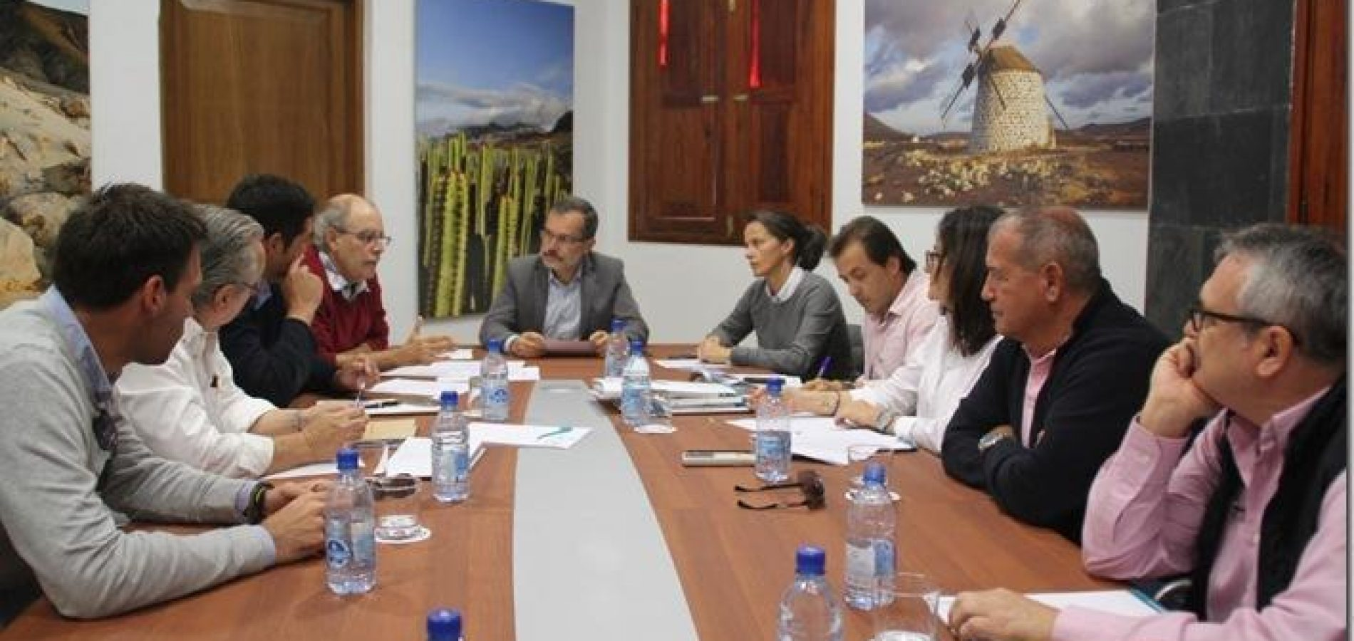 AECA attended to a new beach-works follow-up meeting