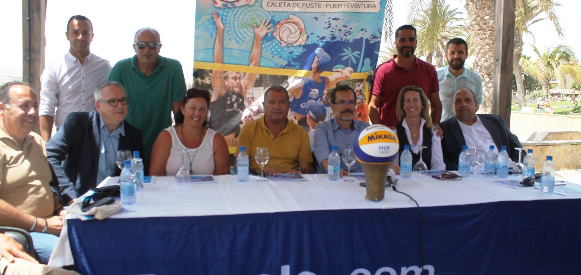 AECA will sponsor Caleta de Fuste International Beach Volley Tournament.