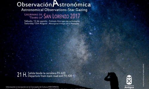"Astronomical Observations-Star Gazing ""Tears of San Lorenzo""."