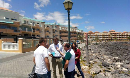 Reunión entre AECA y el Partido Popular de Fuerteventura.