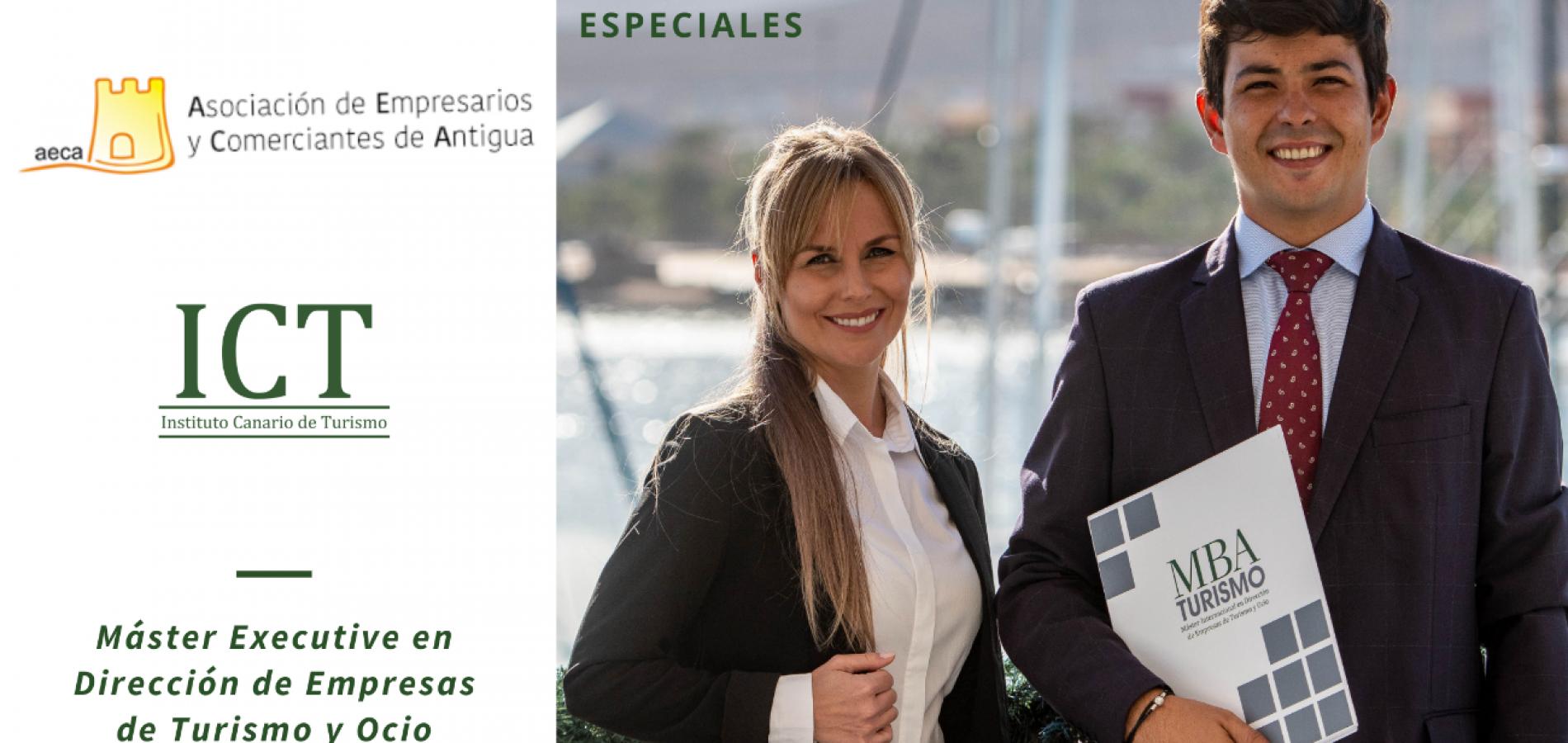 BECAS AECA: Máster en Dirección de Empresas de Turismo y Ocio.